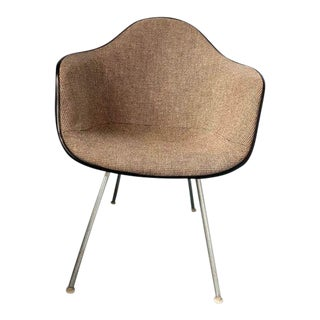 Eames for Herman Miller Upholstered Shell Armchair For Sale