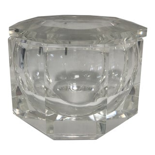 Attached Lid Acrylic Ice Bucket For Sale