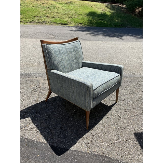 Textile Paul McCobb Directional Mid Century Modern Lounge Chair For Sale - Image 7 of 7