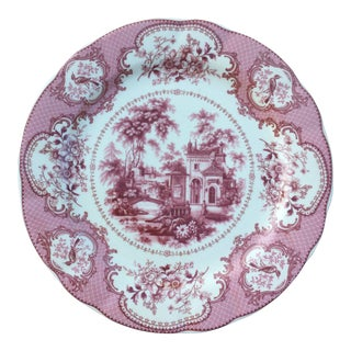 Traditional English Decorative Plate For Sale