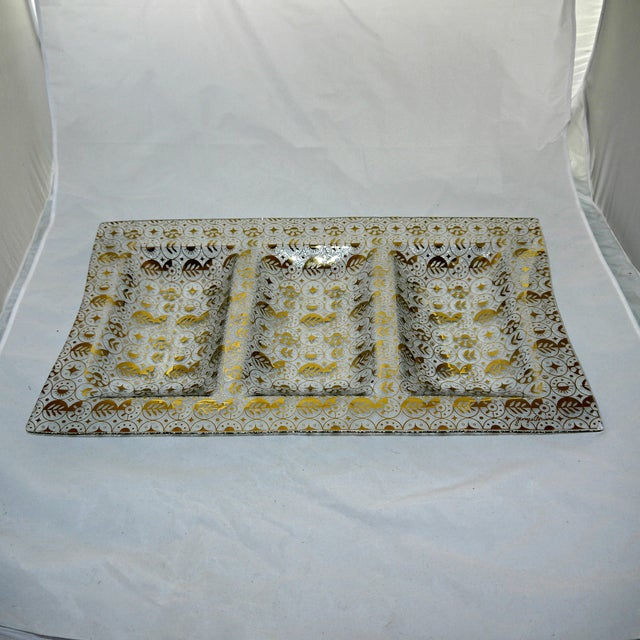Georges Briard Mid-Century Divided Server Tray - Image 7 of 7