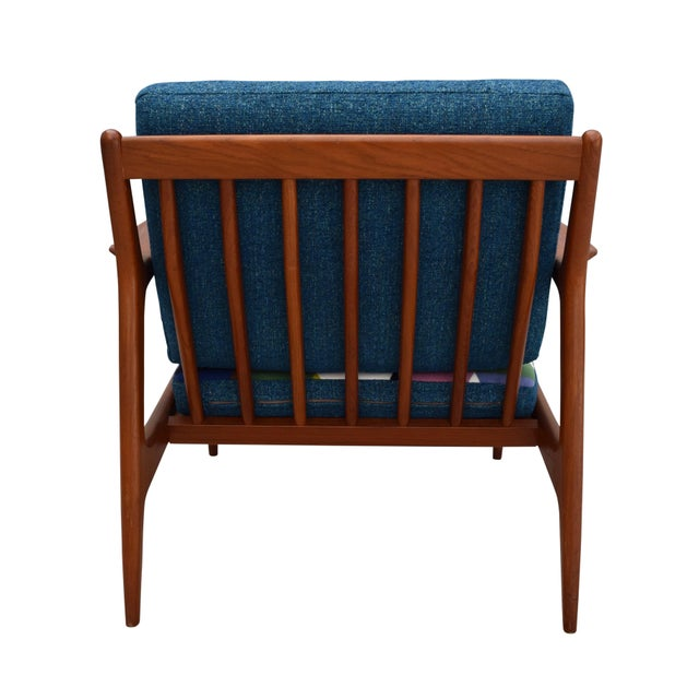Vintage Danish Mid-Century Teak Lounge Chair - Image 7 of 10