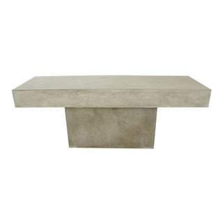 CB2 Concrete Resin Fuze Bench For Sale