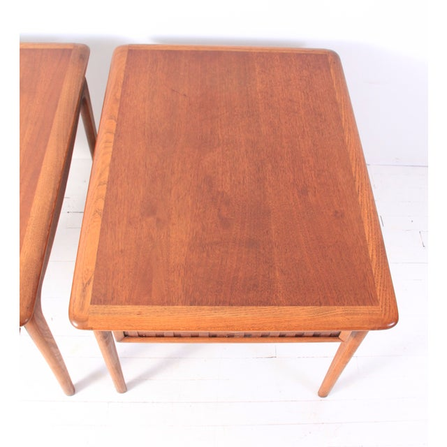 Vintage Lane Mid-Century Side Tables - a Pair - Image 6 of 10