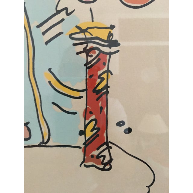 Signed Numbered Peter Max Lithograph For Sale - Image 4 of 6