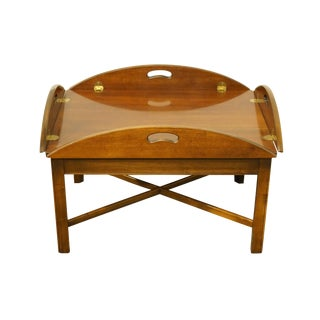 20th Century Traditional Lane Furniture Alta Vista Solid Cherry Coffee Table For Sale