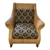 Image of Palecek Coastal Lounge Chair For Sale