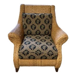 Palecek Coastal Lounge Chair For Sale