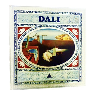 Vintage 1968 Dali Art Book