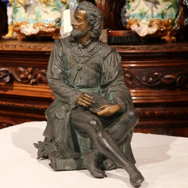 19th Century French Spelter Metal Statue With Polychrome Finish - Image 2 of 9