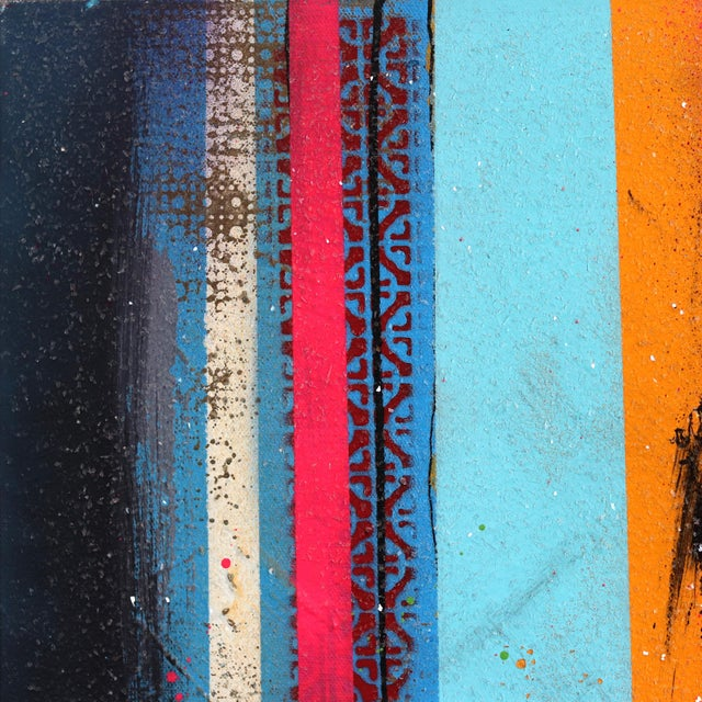 Austin Reed's colorful pop urban artworks are a reaction to the diverse compositions and imagery of abstract urban...