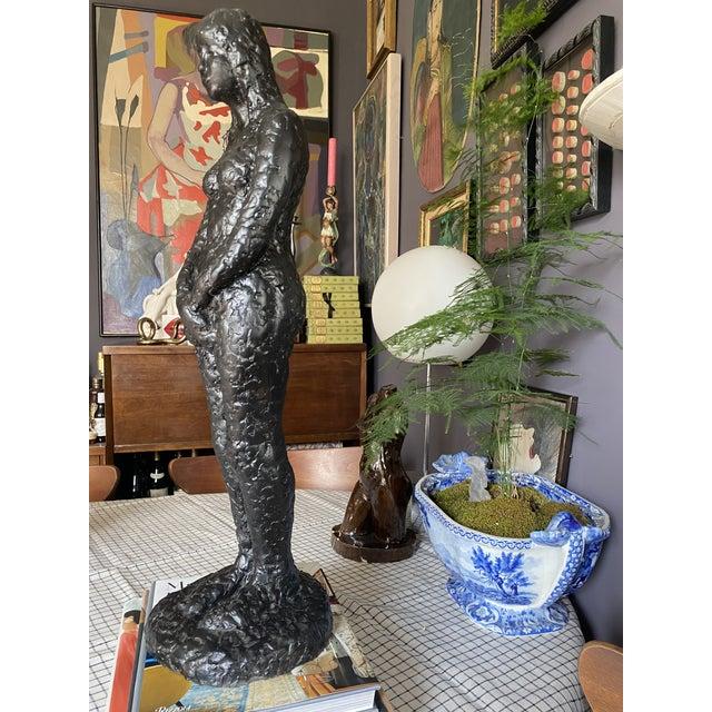 Mid-Century Modern 1960's Mid-Century Nude Figure Sculpture For Sale - Image 3 of 9