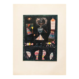 """1955 Paul Klee """"Puppet Show"""" First Edition Lithograph For Sale"""