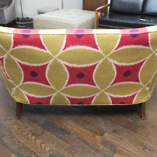Custom Upholstered Down-Filled Loveseat - Image 8 of 9
