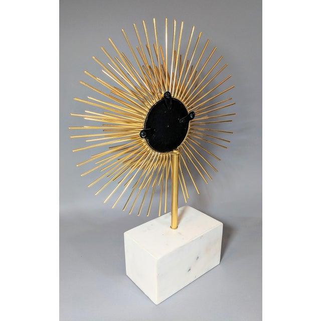 Modernist Starburst Tabletop Mirror Sculpture For Sale - Image 9 of 10