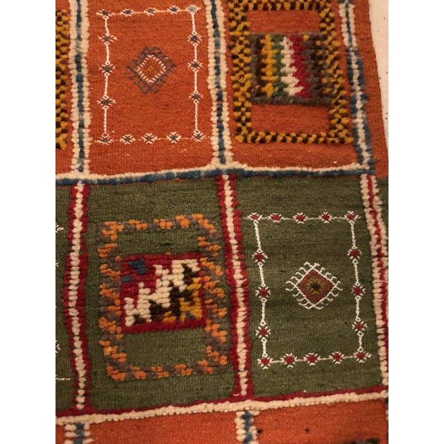 """Abstract Modern Moroccan Berber Rug-2'1'x3'3"""" For Sale - Image 3 of 7"""