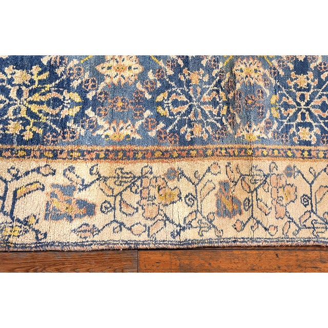 1920s Antique Indian Agra Cotton Rug For Sale - Image 5 of 7