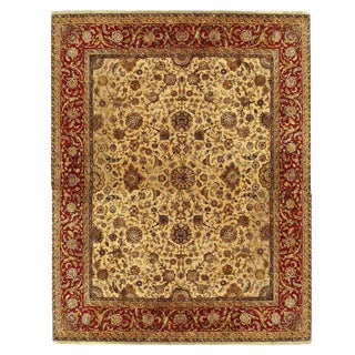 "Pasargad Indo Agra Red Wool Rug - 12′ × 15′3"" For Sale"