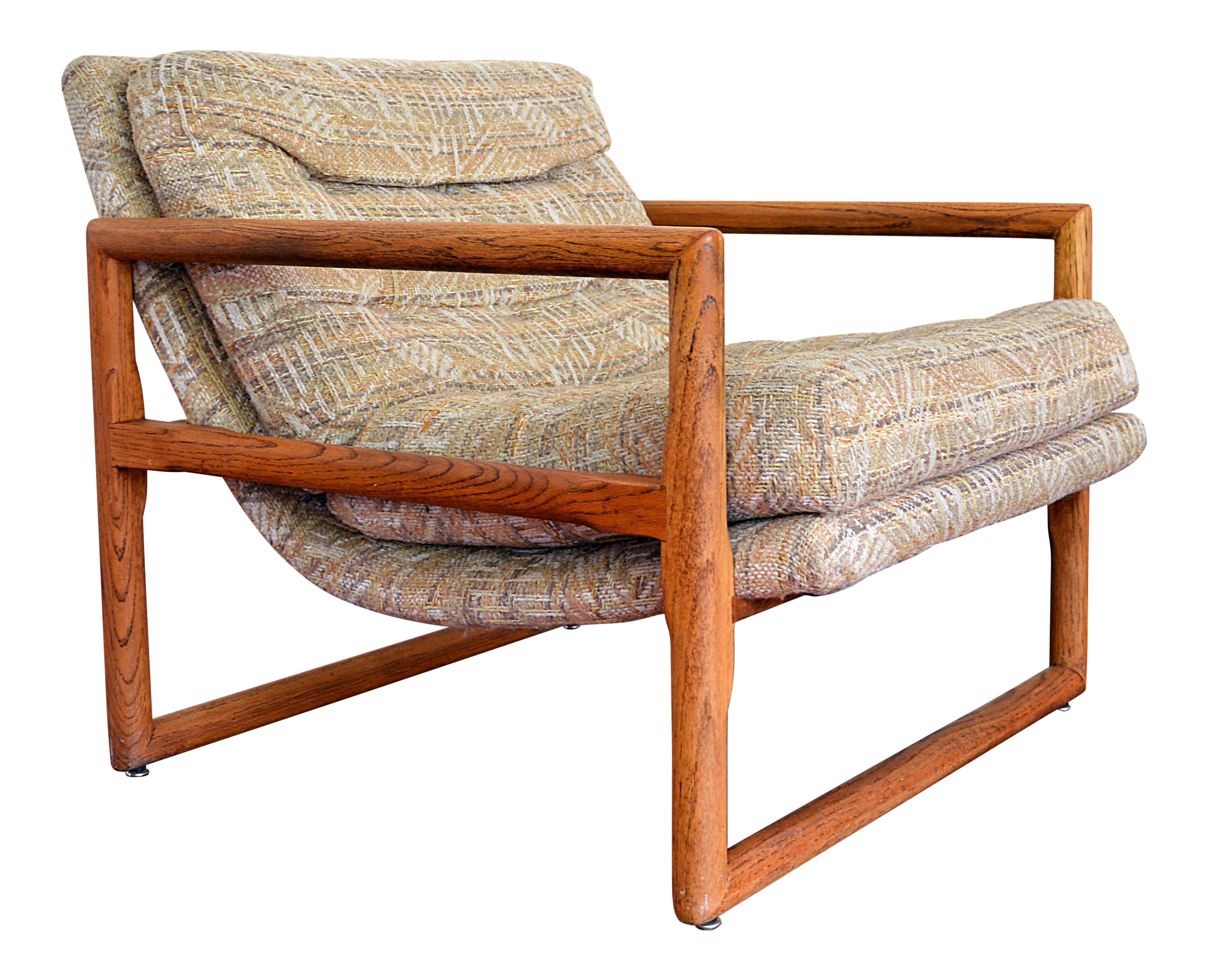 Milo Baughman Scoop Chair For Thayer Coggin