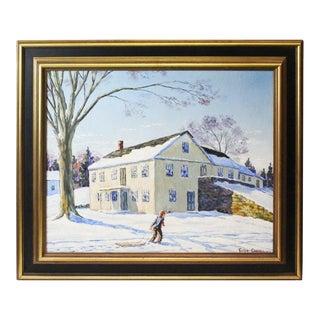 Caddell Winter Scene For Sale