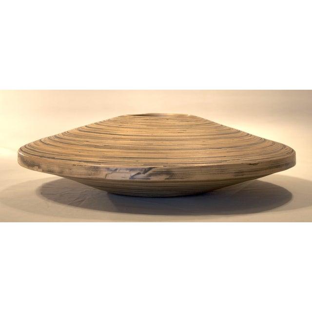 Small Spun Bamboo Vessel - Image 2 of 3