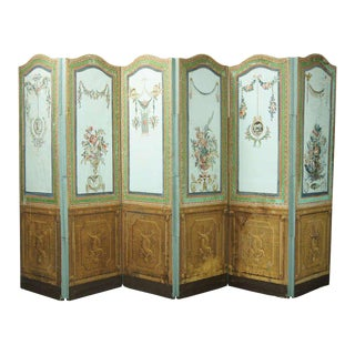 19th Century French Folding Screen For Sale