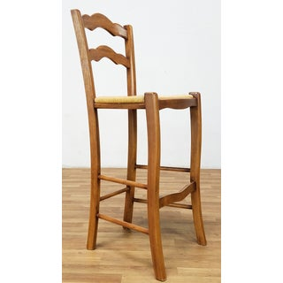 Italian Rattan and Wicker Barstools - Set of 4 Preview