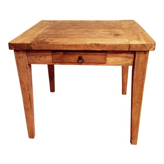Pine Square Table For Sale