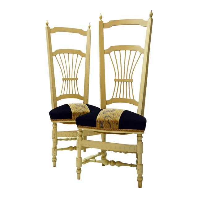 Chiavari High Back Chairs - A Pair - Image 1 of 9