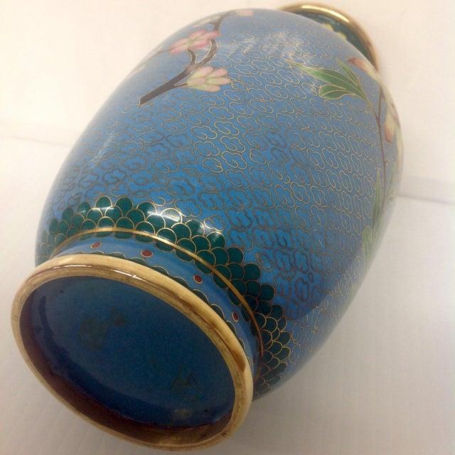 Meiji Japanese Cloisonné Vase - Image 9 of 9
