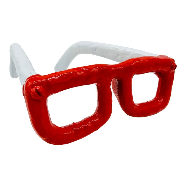 Mid Century Modern Monumental Reading Glasses For Sale