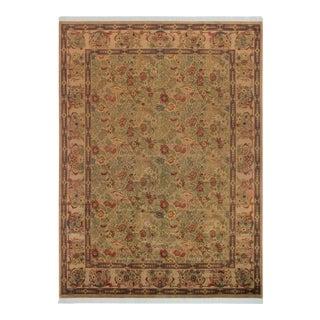 Basarabian Mathilda Tan/Gray Wool Rug- 9′ × 12′5″ For Sale