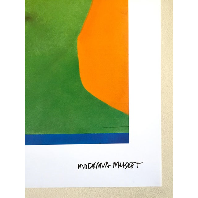 """Martial Raysee Moderna Museet Stockholm Lithograph Print Pop Art Poster """" France Verte """" 1964 For Sale - Image 10 of 13"""