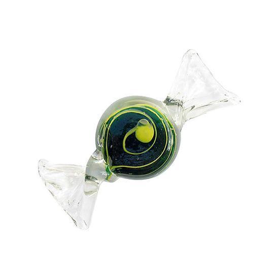 Murano Italian Swirl Candy Paperweight - Image 2 of 4