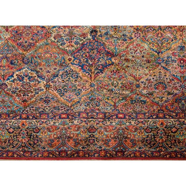 Textile Early 20th Century Karastan Kirman Rug For Sale - Image 7 of 11