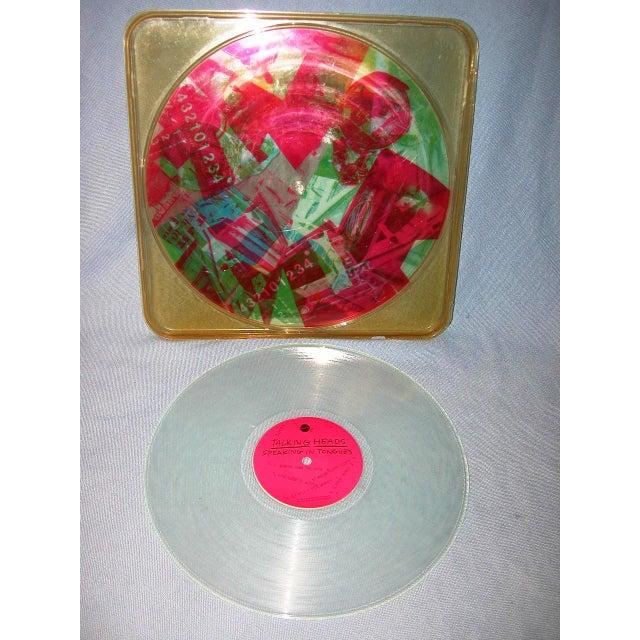 Robert Rauschenberg Talking Heads Art Vinyl - Image 2 of 4