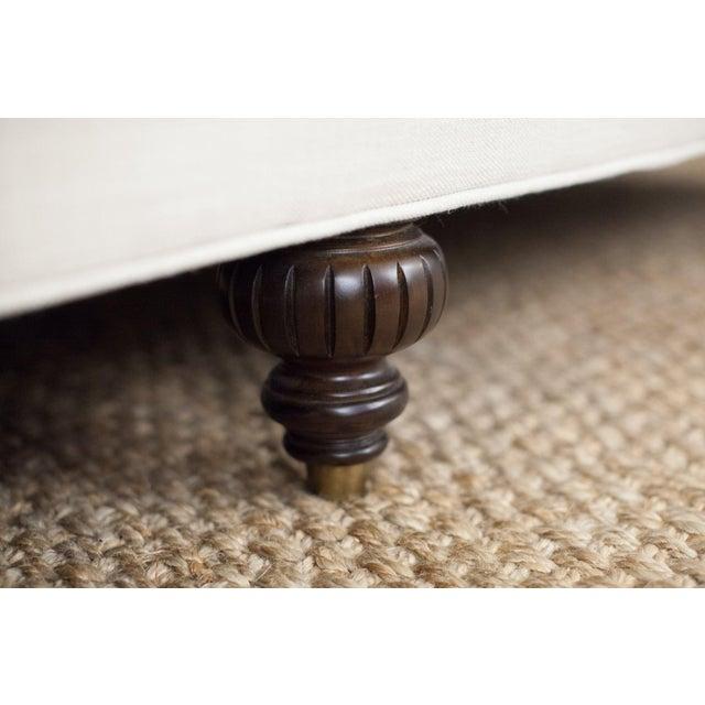 Highland House Linen Tufted Sofa - Image 8 of 8