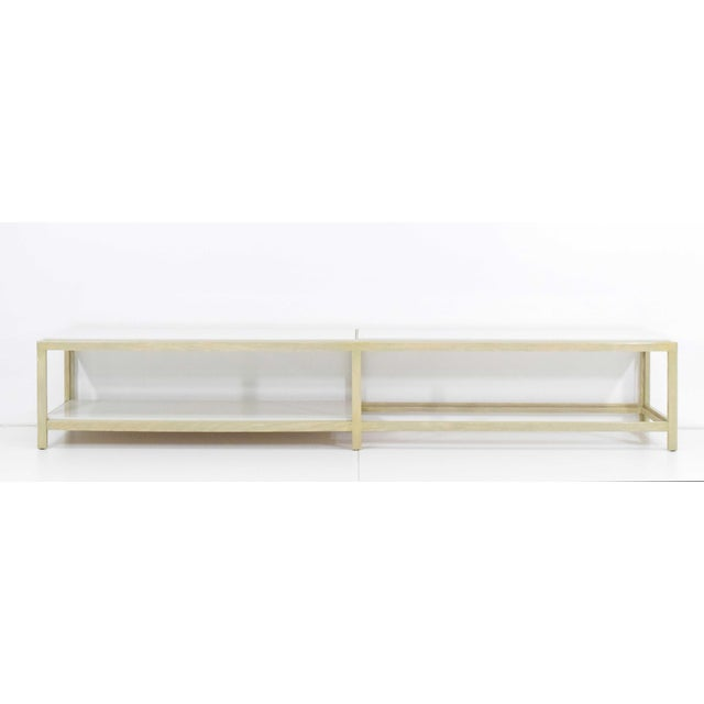 Dunbar Coffee Table or Bench in Light Ash For Sale In Dallas - Image 6 of 11