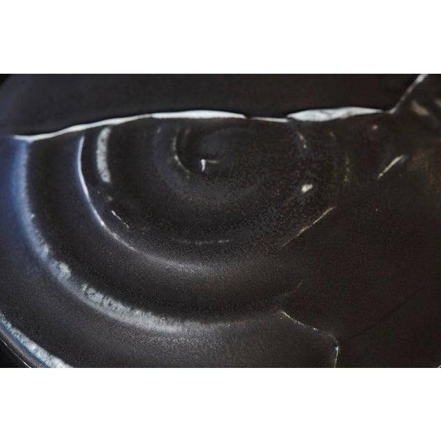Chris Staley Square Black Lidded Jar, Signed For Sale In New York - Image 6 of 11