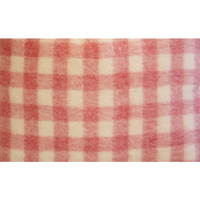 Scottish Plaid Wool & Velvet Down/Feather Pillow - Image 4 of 6