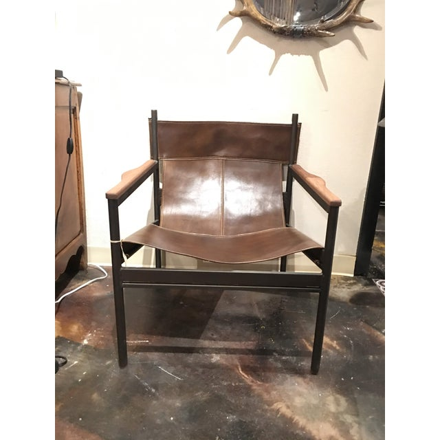Modern Cisco Brothers Barcelona Chair For Sale In Denver - Image 6 of 13