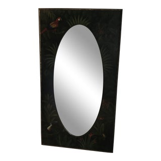 Monumental Hand-Painted Pier Mirror For Sale