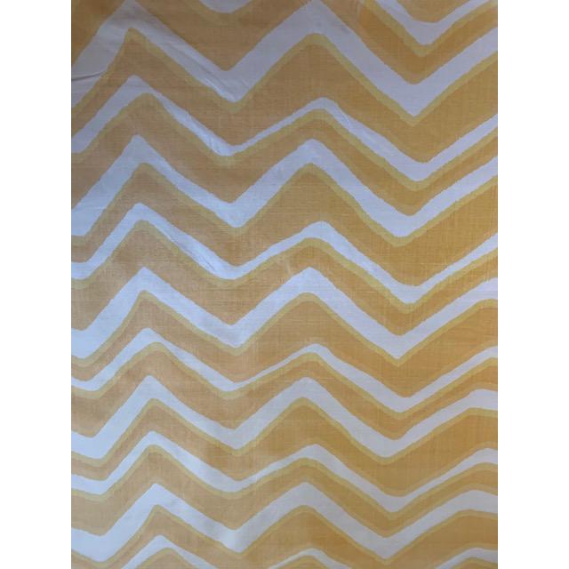Contemporary Brunschwig and Fils Chevron Bar Silk Fabric For Sale