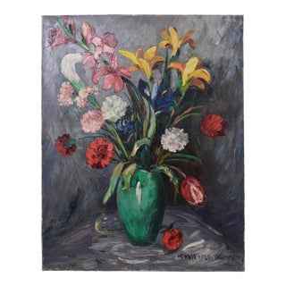 Oil on Canvas,painted by Nandor Vagh Weinmann (Hungarian, 1897-1978) For Sale