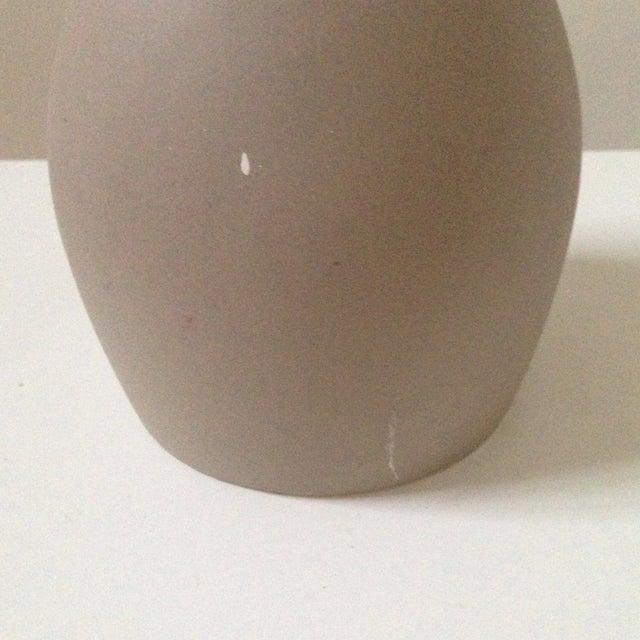 Double Gourd Form Tan Ceramic Vase - Image 5 of 7