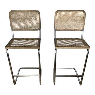 Bauhaus Bar Stools - a Pair For Sale
