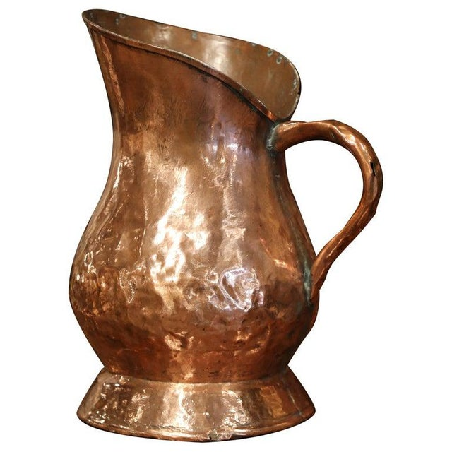 18th Century French Polished Copper Decorative Coal Bucket or Umbrella Stand For Sale - Image 9 of 9