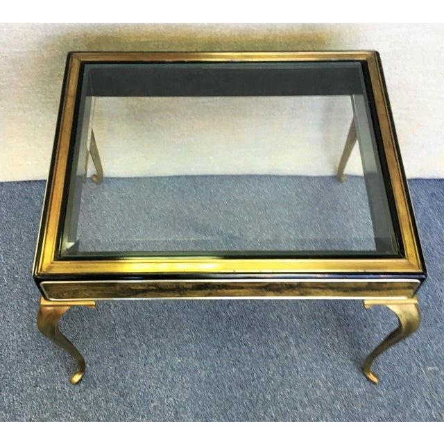Mastercraft by Bernhard Rohne Etched Brass Table For Sale In West Palm - Image 6 of 6