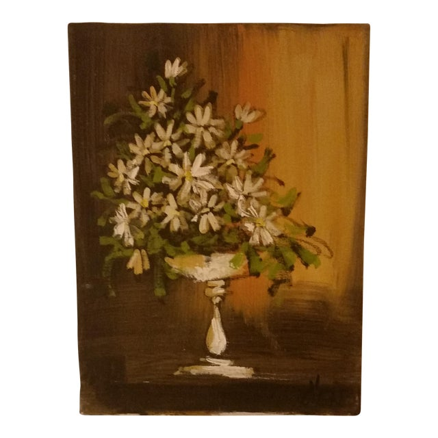 'Daisies in a Vase' Painting For Sale