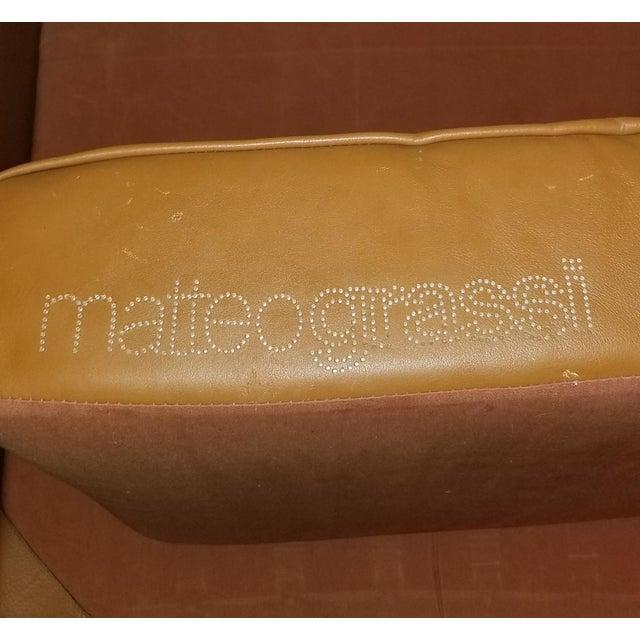 Matteo Grassi Tito Agnoli for Matteo Grassi Korium KM 3/1 Armchair For Sale - Image 4 of 5